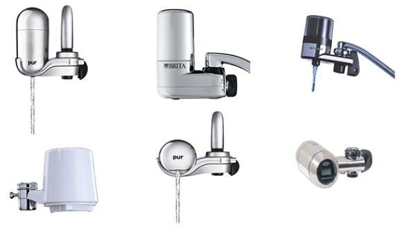 Types of Tap Faucet Water Filters