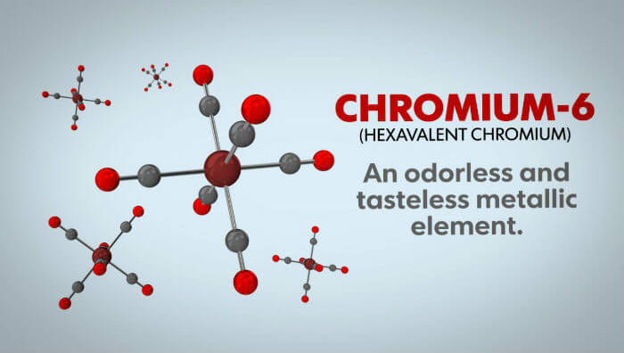 how to filter chromium 6 from water