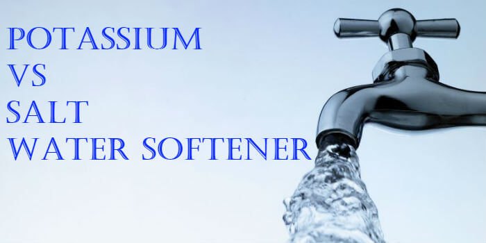 potassium vs salt water softener